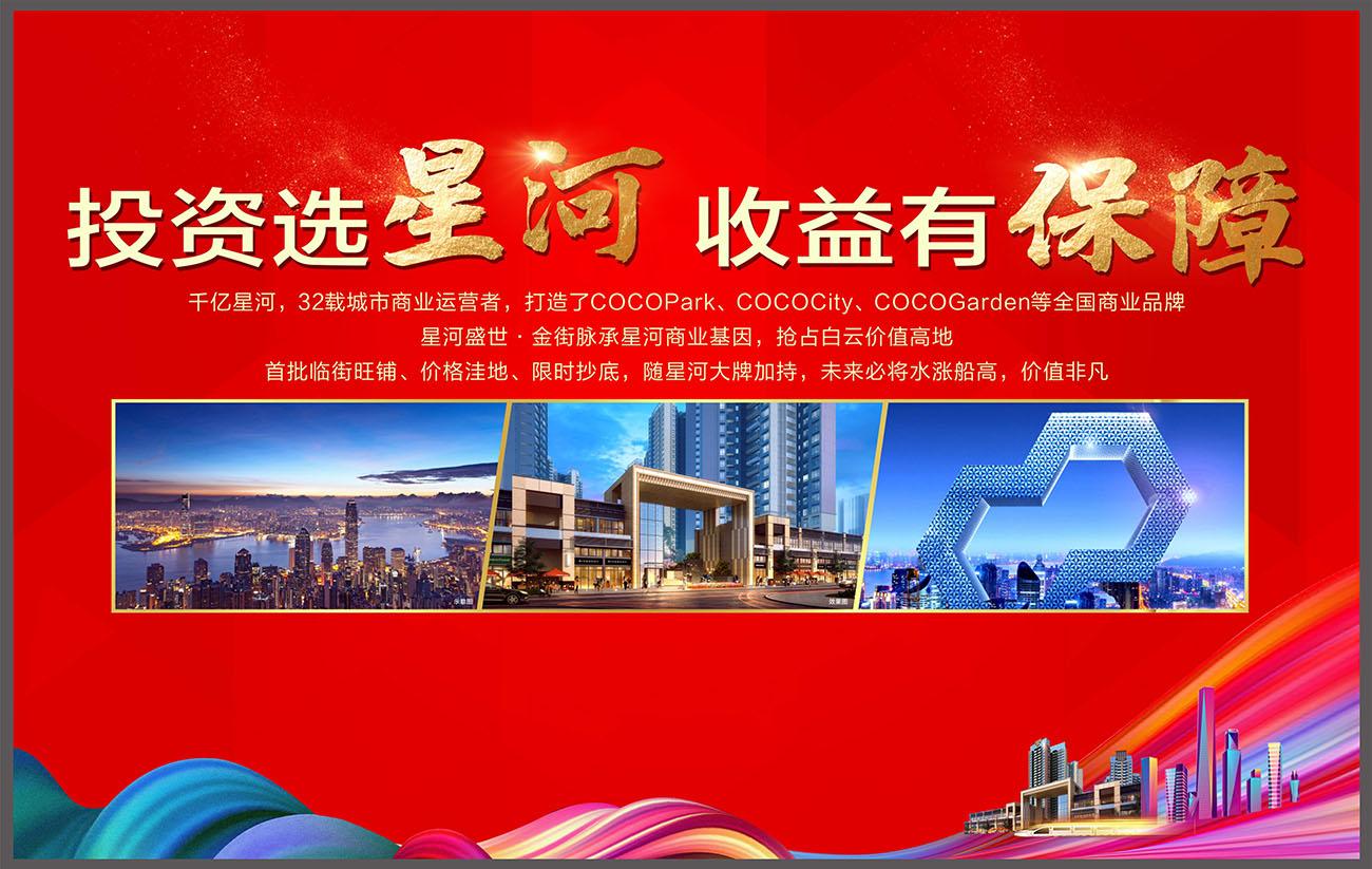 商业地产招商宣传海报展板CDR源文件插图